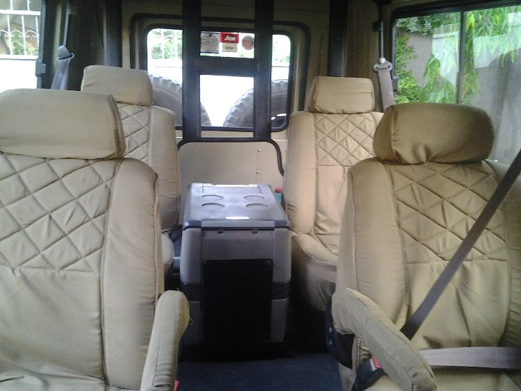 Landcruiser Safari Car interior